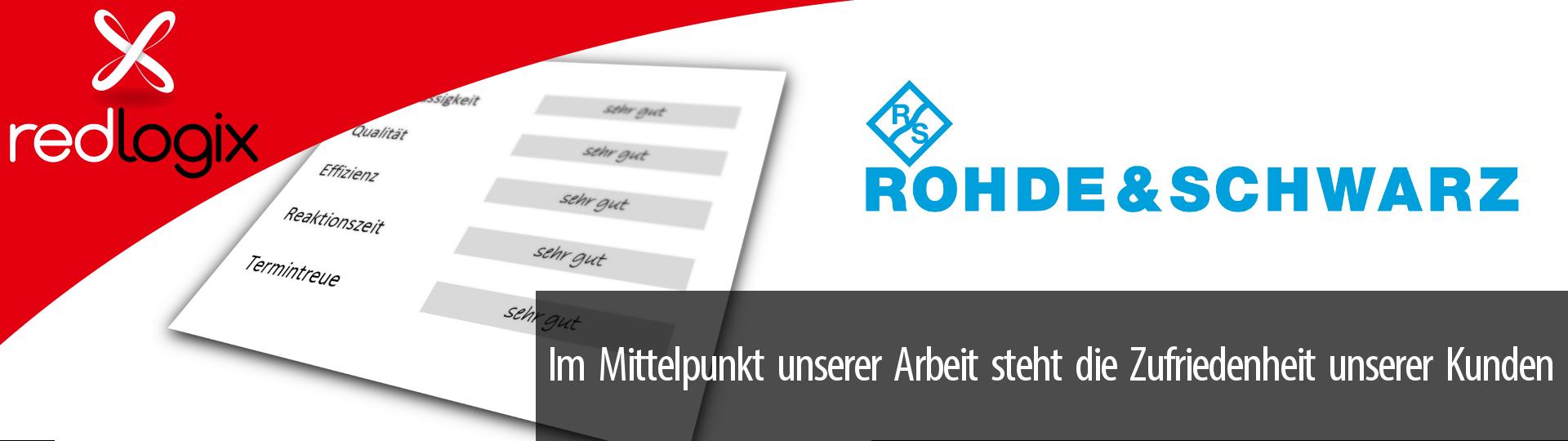 Impression Kundenzufriedenheit Rohde & Schwarz