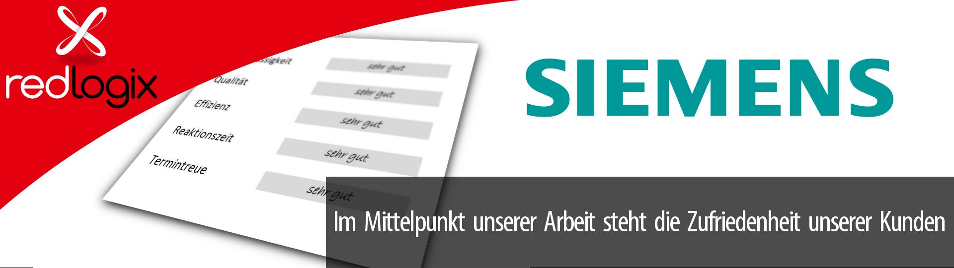 Impression Kundenzufriedenheit Siemens
